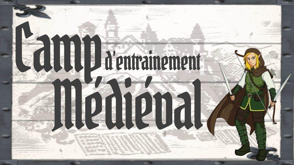 Camp d'entraînement médiéval